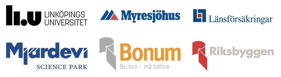 Bland mina kunder finns Linköpings universitet, Myresjöhus, Länsförsäkringar, Mjärdevi Science Park, Bonum och Riksbyggen